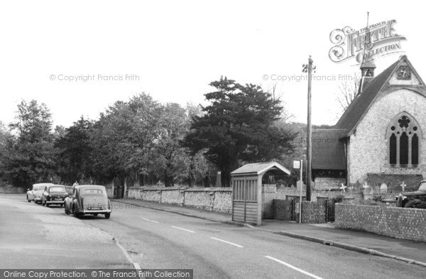 Photo of Tongham, Poyle Road c.1965