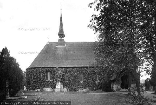 Photo of Tongham, St Paul's Church 1921