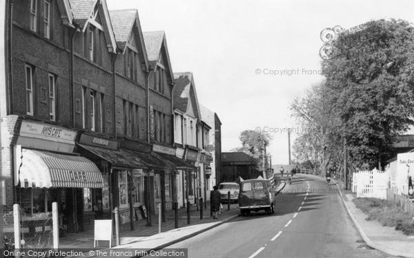 Photo of Tongham, The Street c.1960