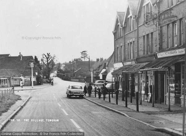 Photo of Tongham, The Village c.1965