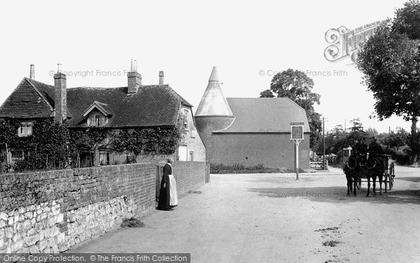 Photo of Tongham, Village 1906