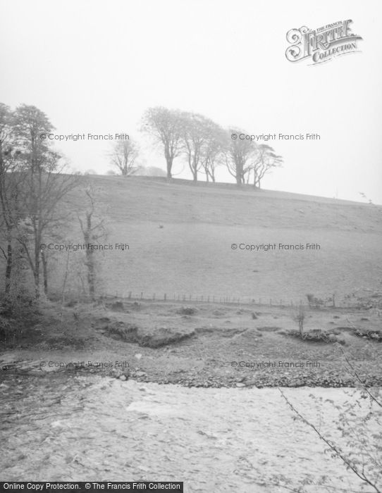 Photo of Tongland, Carse Moat Fort 1958