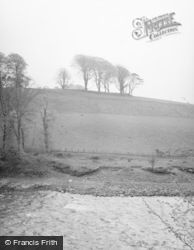 Tongland, Carse Moat Fort 1958