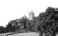 Tongwynlais, Castell Coch c1960