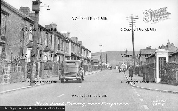 Photo of Tonteg, Main Road c.1955