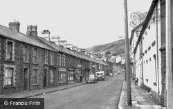 Clydach Street c.1960, Tonypandy