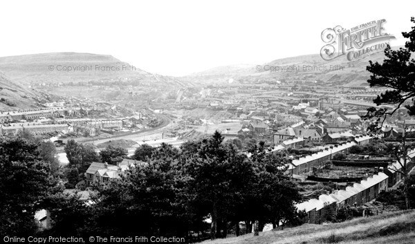 Tonypandy, General View c1960