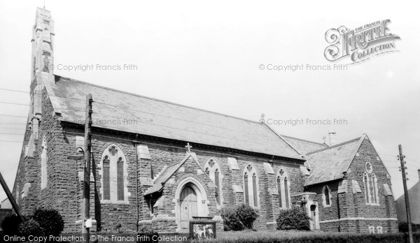 Tonyrefail, St David's Parish Church c1955