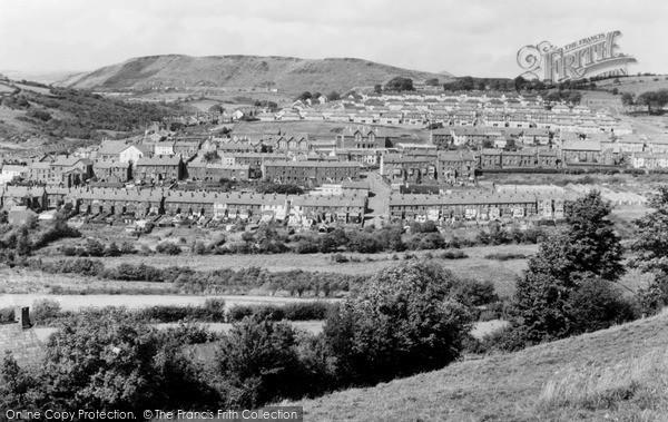 Photo of Tonyrefail, The Village c.1955