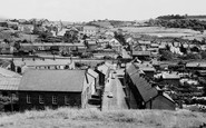 Tonyrefail, Waun-Rhydd Road and High Street 1959