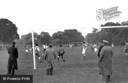 Tooting Bec, Football On The Common 1952