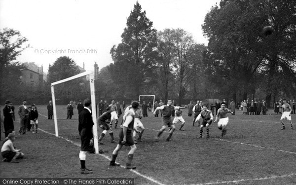 Photo of Tooting Bec, Football On The Common 1952