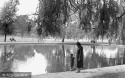 Tooting Bec, Pond 1951, Tooting Bec Common