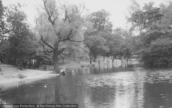 Photo of Tooting Bec, The Lake 1961