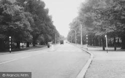 Tooting Bec, Tooting Bec Road 1961, Tooting Bec Common