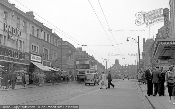 Photo of Tooting, Mitcham Road 1951