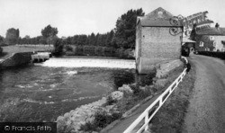 Topcliffe, The Mill And Waterfall c.1960