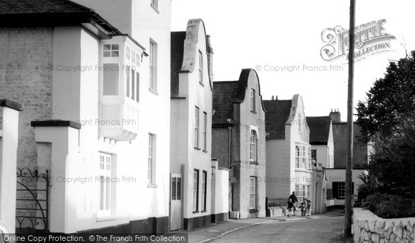 Photo of Topsham, Dutch Houses, The Strand c.1965
