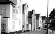 Topsham, Dutch Houses, the Strand c1965