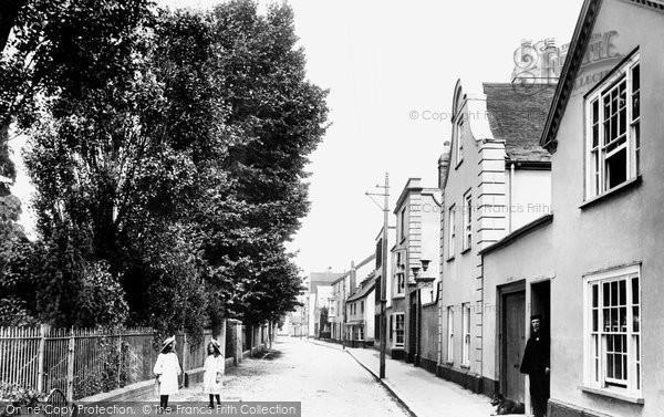 Topsham, the Strand 1906