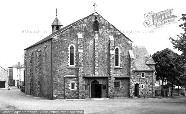 Photo of Torpoint, Church c1955, ref. t63008