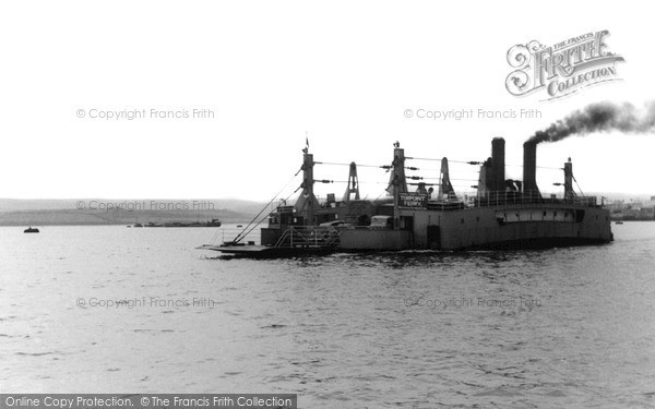 Photo of Torpoint, Ferry c1955, ref. t63001