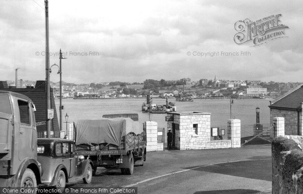 Torpoint, Ferry c.1955