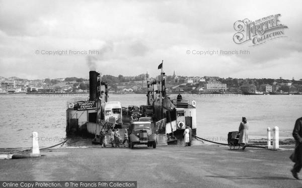 Photo of Torpoint, Ferry c1955, ref. t63005
