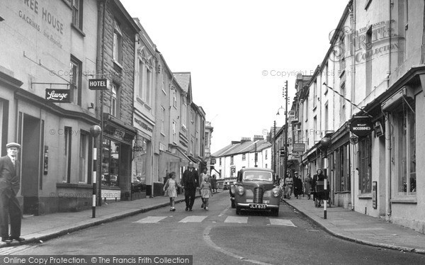 Photo of Torpoint, Fore Street c.1955
