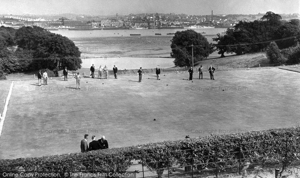 Photo of Torpoint, Thanckes Pleasure Grounds c1955, ref. t63016