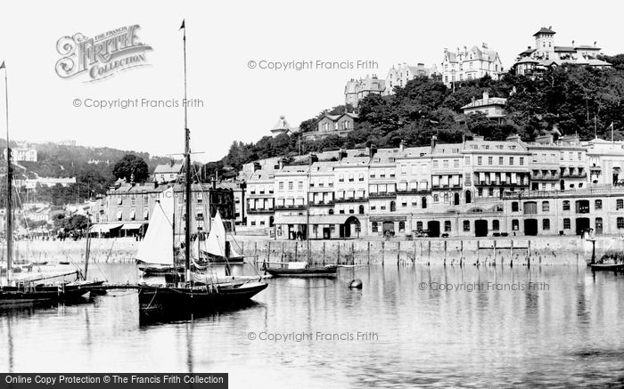 Photo of Torquay, Beacon Terrace 1888