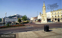 Torquay, Clock Tower And The Strand c.1995