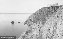 Torquay, Coast Near Daddy Hole 1889