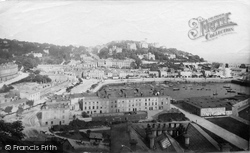 Torquay, From Waldon Hill 1886
