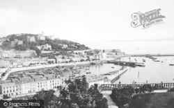 Torquay, From Waldron Hill 1888