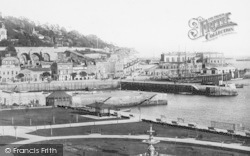 Torquay, From Waldron Hill 1895