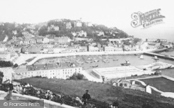 Torquay, From Waldron Hill 1896