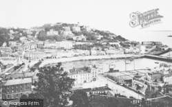 Torquay, From Waldron Hill 1912