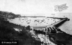 Torquay, Harbour And Pier 1901