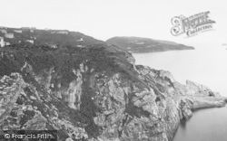 Torquay, Meadfoot From Daddy Hole 1889