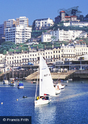 Torquay, Outer Harbour And Park Hill c.1995