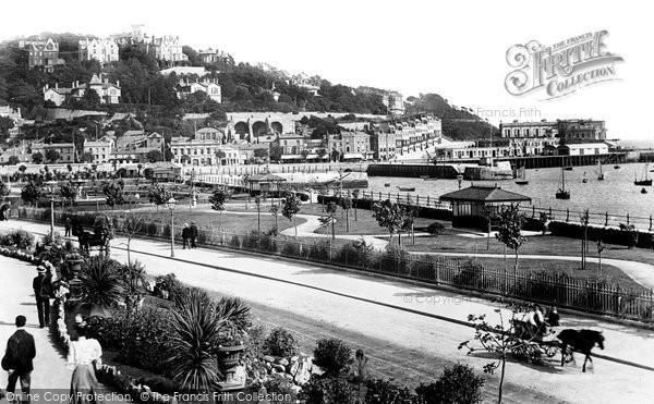Photo of Torquay, Princess Gardens 1896