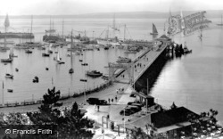 Princess Pier c.1939, Torquay