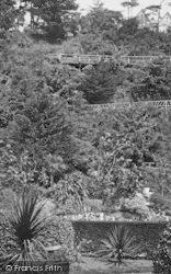 Torquay, Rock Gardens, The Bridge 1906
