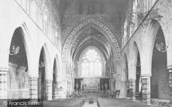 Torquay, St John's Church Interior 1889