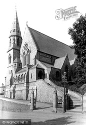 Torquay, St Luke's Church 1889