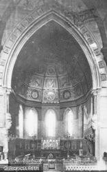 Torquay, St Luke's Church Interior 1889