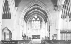 Torquay, St Mathias Church Interior 1890
