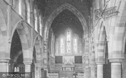 Torquay, St Michael's Church Interior 1889
