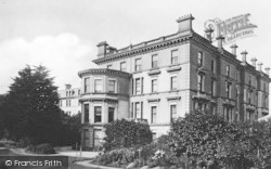 Torquay, Victoria And Albert Hotel 1888